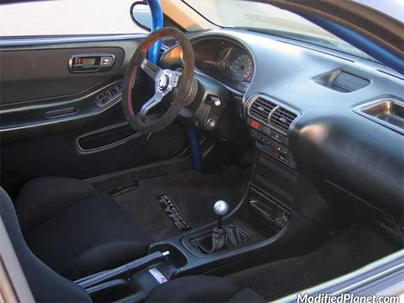 1999 Acura Integra Gsr With Nardi Corn Rally Suede Steering Wheel