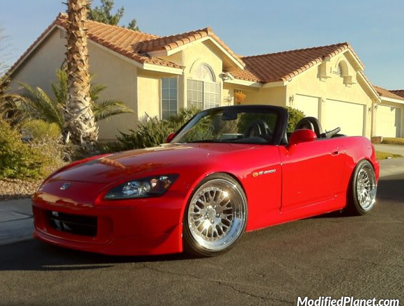 2004 Honda S2000 With Polished 18 Quot X 10 Quot Ccw Lm20 Wheels