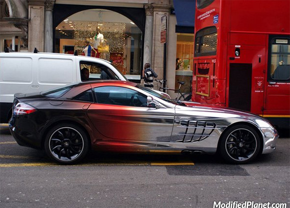car-photo-2006-mercedes-benz-slr-black-chrome-paint-job-exterior
