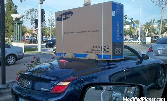car-photo-2008-lexus-sc430-convertible-samsung-lcd-tv-television-fail