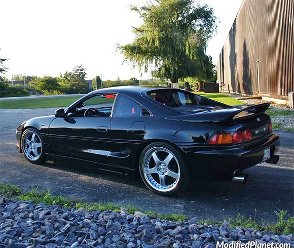 1992 Toyota Mr2 Turbo With 5zigen 5zr Copse Wheels