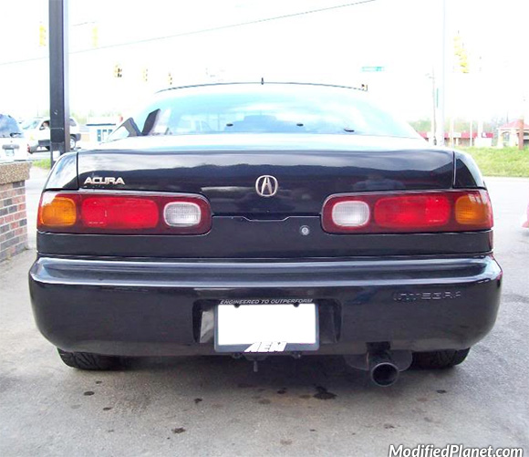 Acura Integra With Comptech Catback Exhaust System - 1994 acura integra exhaust system