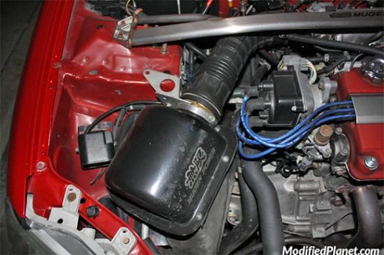 Car Photo 2000 Honda Civic Si Mugen Carbon Fiber Intake Box Em1 Ek9