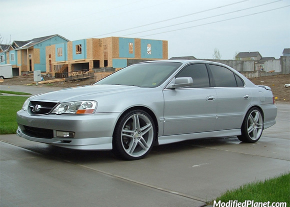 Acura TL TypeS With X Axis Muse Wheels - Acura tl type s wheels