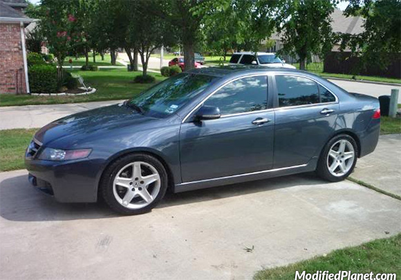 Acura TSX With Acura TL OEM Wheels - 2006 acura tl wheels
