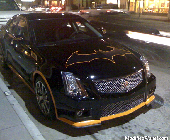 car-photo-2010-cadillac-cts-v-batmobile-batman-symbol-on-hood-yellow-accents-fail