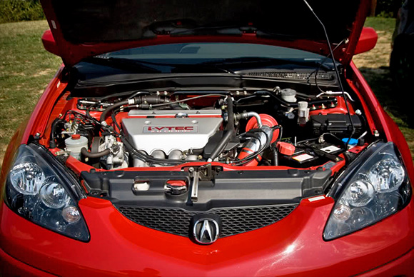 Acura RSX TypeS With AEM Cold Air Intake CAI System - Acura tl type s cold air intake