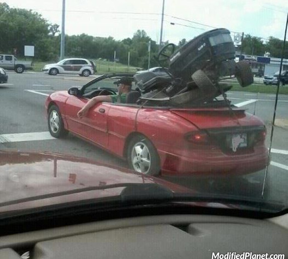 car-photo-2000-sunfire-convertible-lawn-mower-transport-back-seat-fail