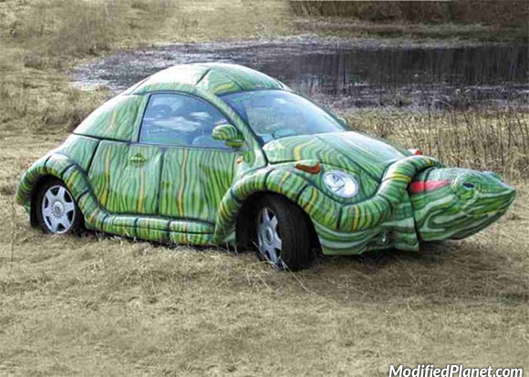 car-photo-2004-volkswagen-beetle-shaped-like-tortoise-turtle-shell-theme