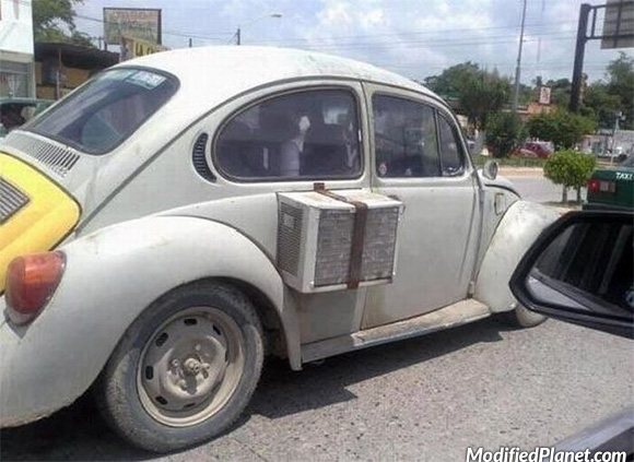 1969 Volkswagen Beetle With House Air Conditioner