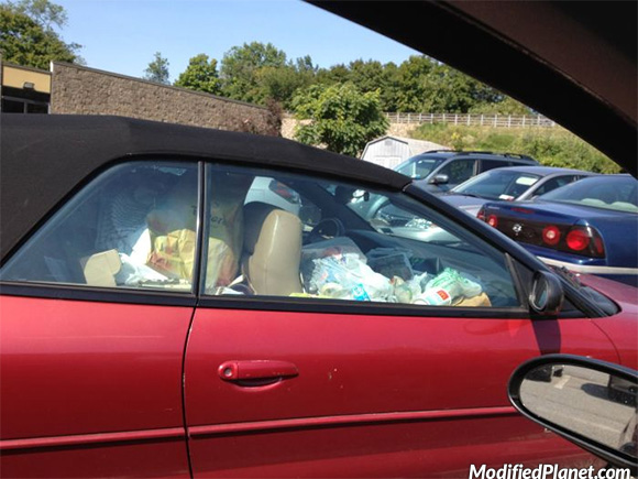 2006 Chrysler Sebring Convertible Filled With Trash Fail