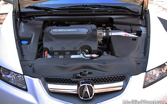 Acura TL TypeS With Injen Cold Air Intake System - Acura tl cold air intake