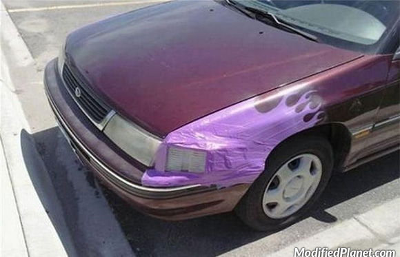 car-photo-1993-subaru-legacy-fender-repair-using-bondo-fail
