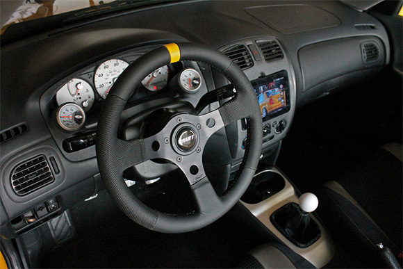 2003 5 Mazda Mazdaspeed Protege With Grant Performance Gt Steering Wheel