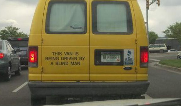car-photo-this-van-is-being-driven-by-a-blind-man-funny