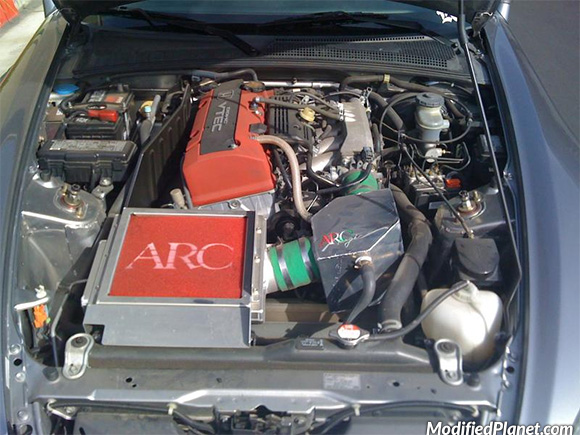 2001 Honda S2000 With Arc Magic Super Induction Box And