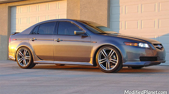 Acura TL With Infiniti M OEM Wheels - 2006 acura tl wheels