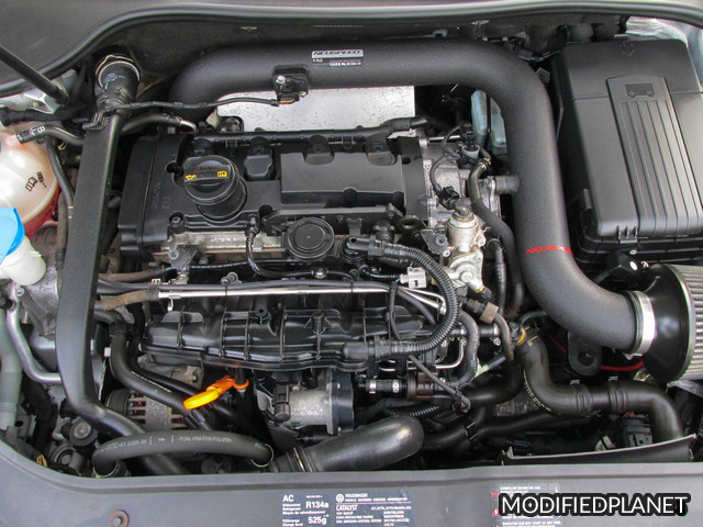 2008 Volkswagen GTI Engine Bay with Neuspeed P-Flo Air Intake System