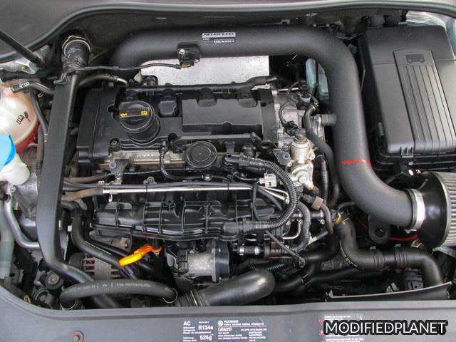 2008 Volkswagen GTI Engine Bay with Neuspeed P-Flo Air Intake System