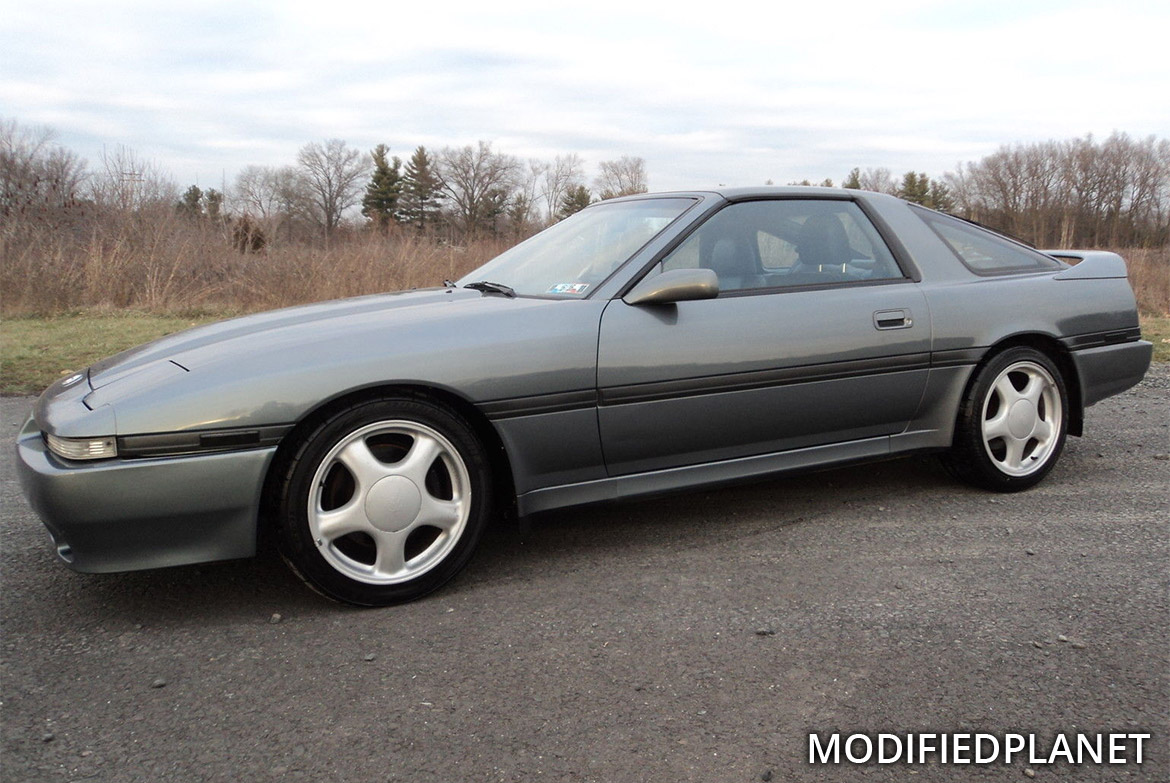 1990 Toyota Supra Turbo with 1994 Toyota Supra MK4 Wheels