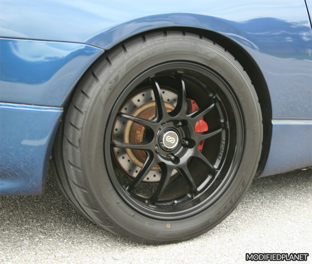 1993 Nissan 300ZX Turbo with 17x9 Enkei PF01 with 275-40-17 Nitto NT01 tire