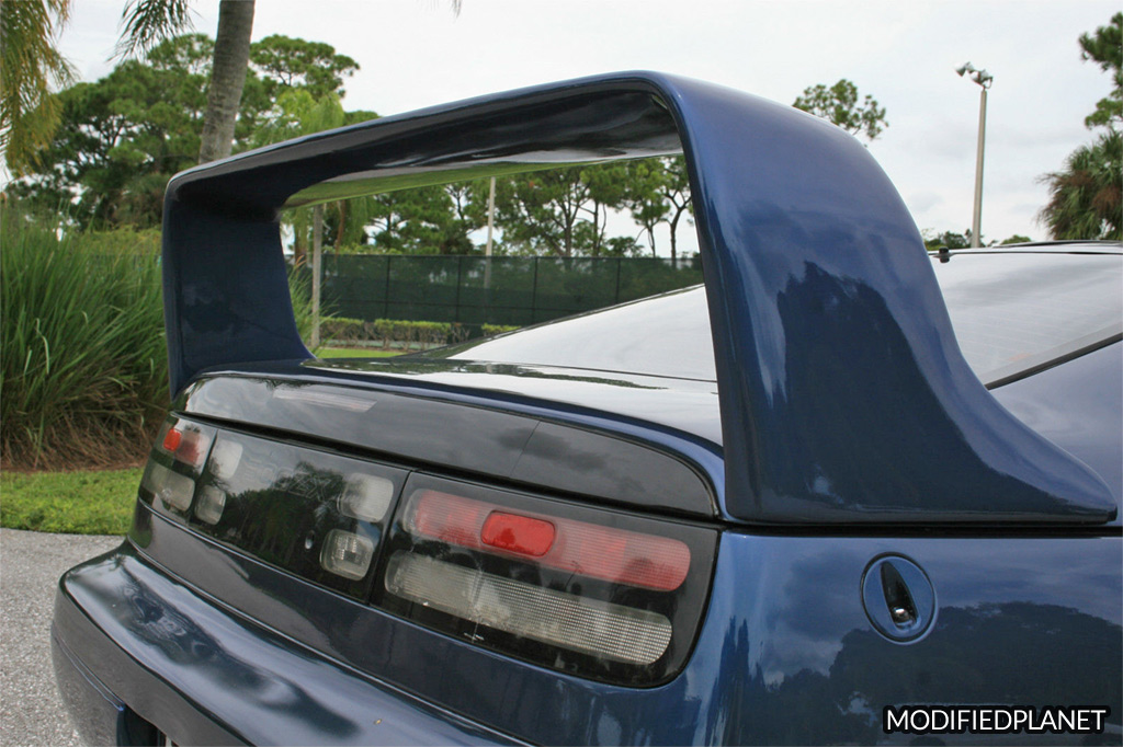 1993 Nissan 300ZX Turbo with Stillen F40 Rear Spoiler