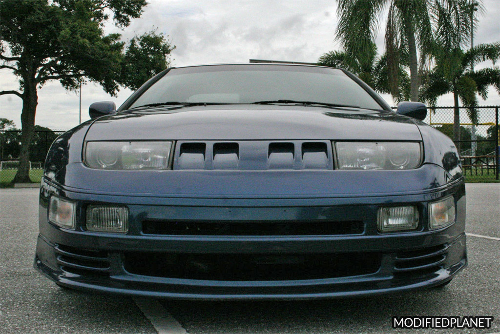 1993 Nissan 300ZX Turbo with Stillen GTZ Front Lip and Front Grill
