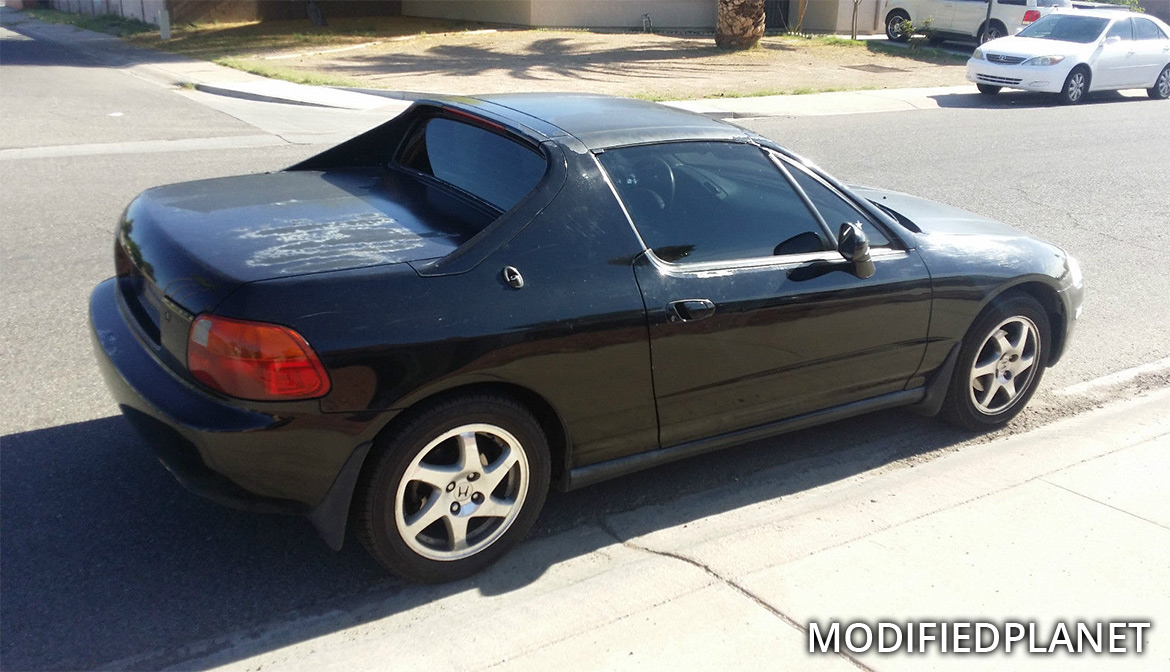 1997 Honda Del Sol with 2000 Acura Integra GSR OEM Wheels