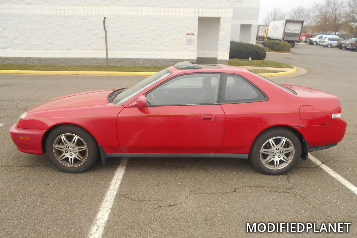 1999 Honda Prelude with 2001 Acura TL OEM Wheels