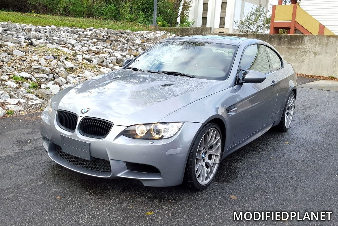 2011 BMW M3 Coupe Space Gray Painted Front Bumper Reflectors