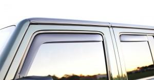 2011 Jeep Wrangler Rubicon Unlimited Weathertech Side Window Deflectors