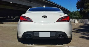 2013 Hyundai Genesis Coupe 2.0T R-Spec with Tsudo Catback Exhaust