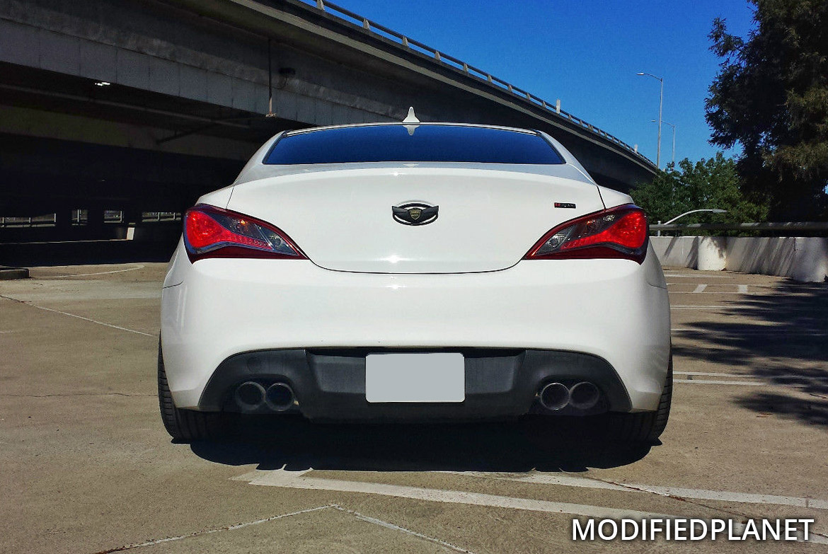 2013 Hyundai Genesis Coupe 2.0T R-Spec with Tsudo Catback Exhaust