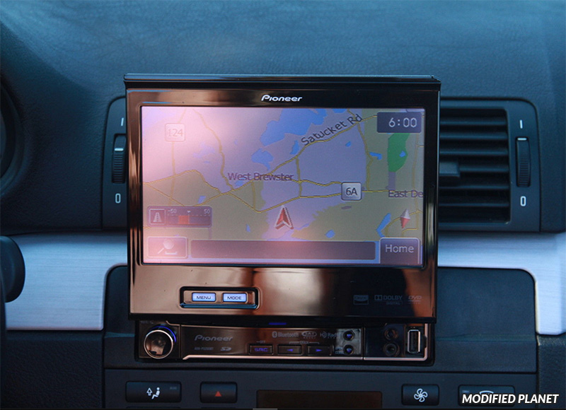2005 BMW M3 with Pioneer AVH-P6300BT Navigation