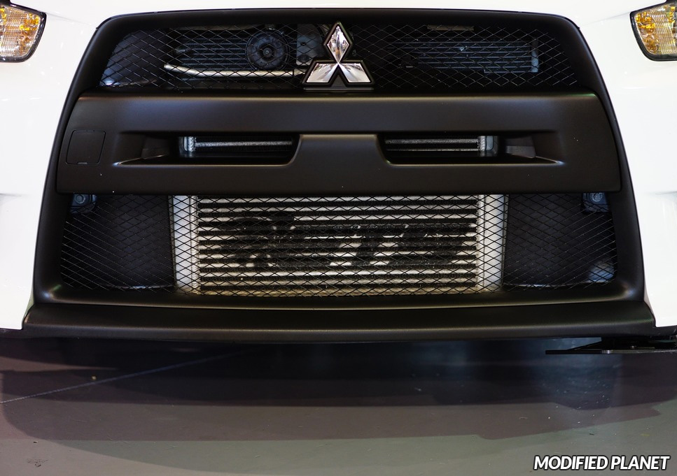 2013 Mitsubishi EVO X ETS Intercooler Upgrade