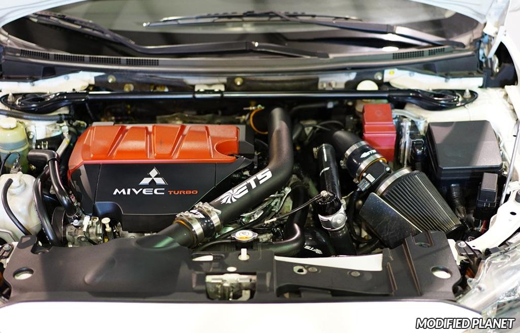 2013 Mitsubishi EVO X ETS Upper Intercooler Pipe and Air Intake