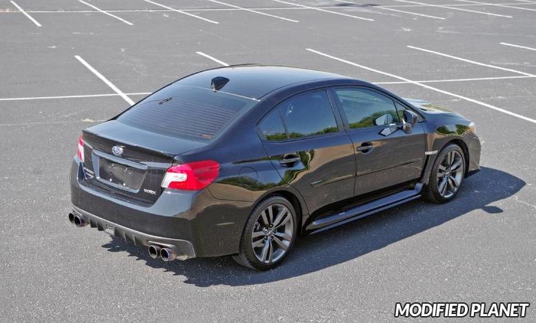 2016 Subaru WRX Premium Invidia Q300 Cat Back Exhaust Titanium Tips HS15STIG3T
