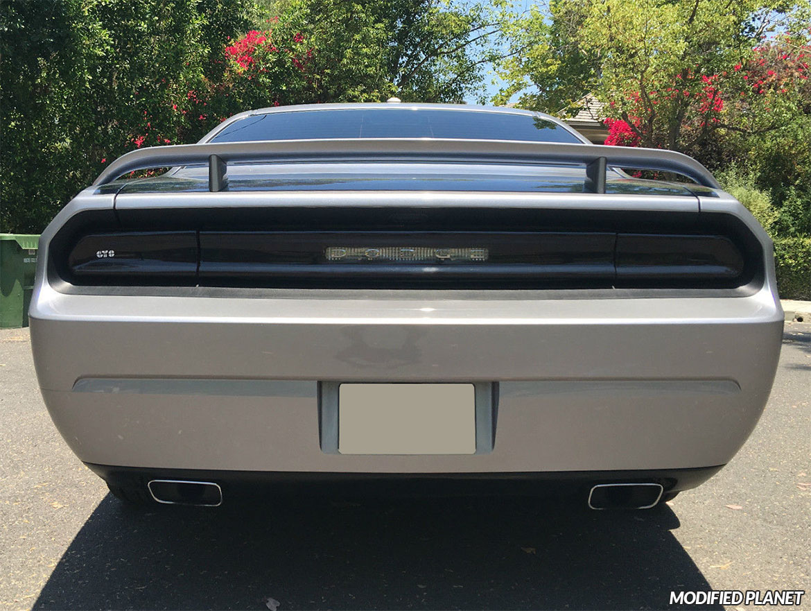 2013 Dodge Challenger GT Styling Smoked Tail Light Covers GT4165